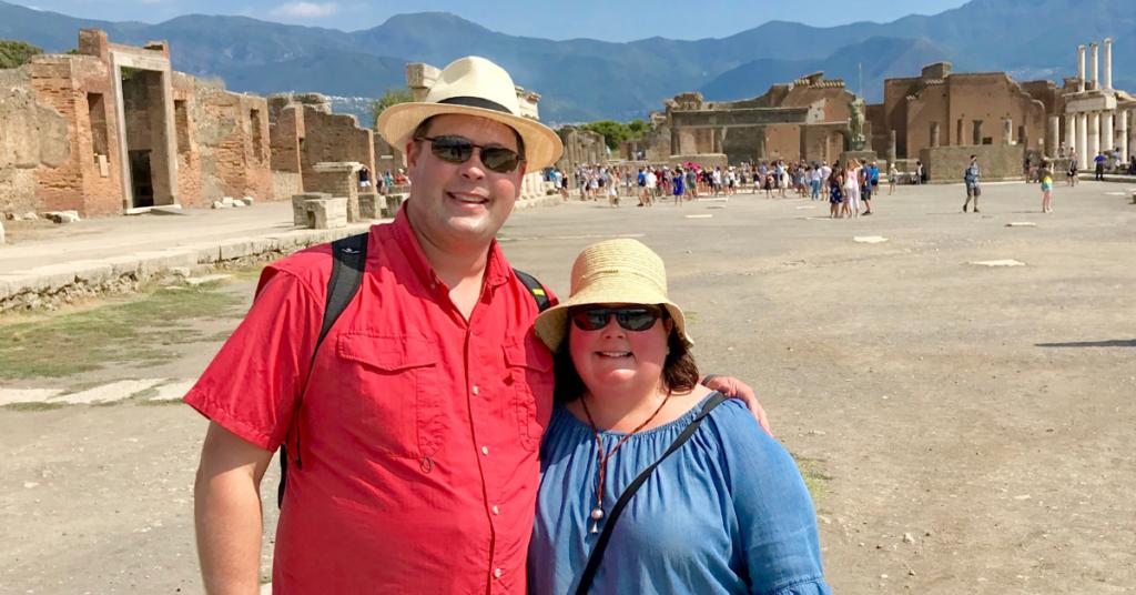 Vacation at Pompeii