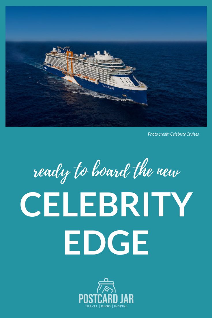 We've been watching the construction of the Celebrity Edge since the beginning, and are excited to board the new ship soon.