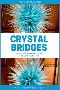 Crystal Bridges pin image