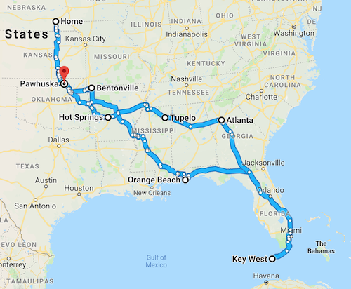 Our 5000 mile road trip