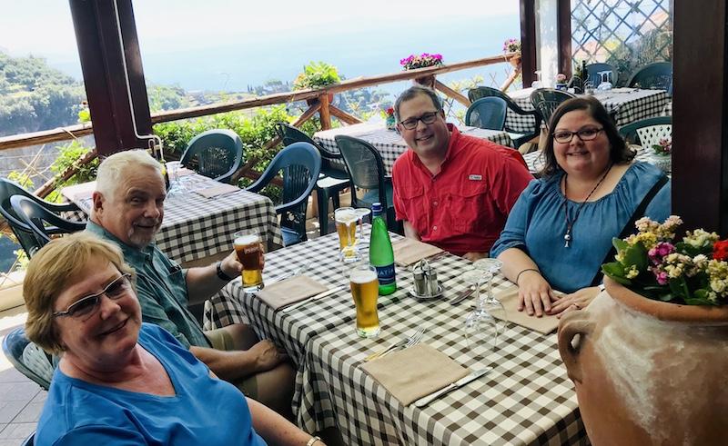 Lunch on the Amalfi Coast