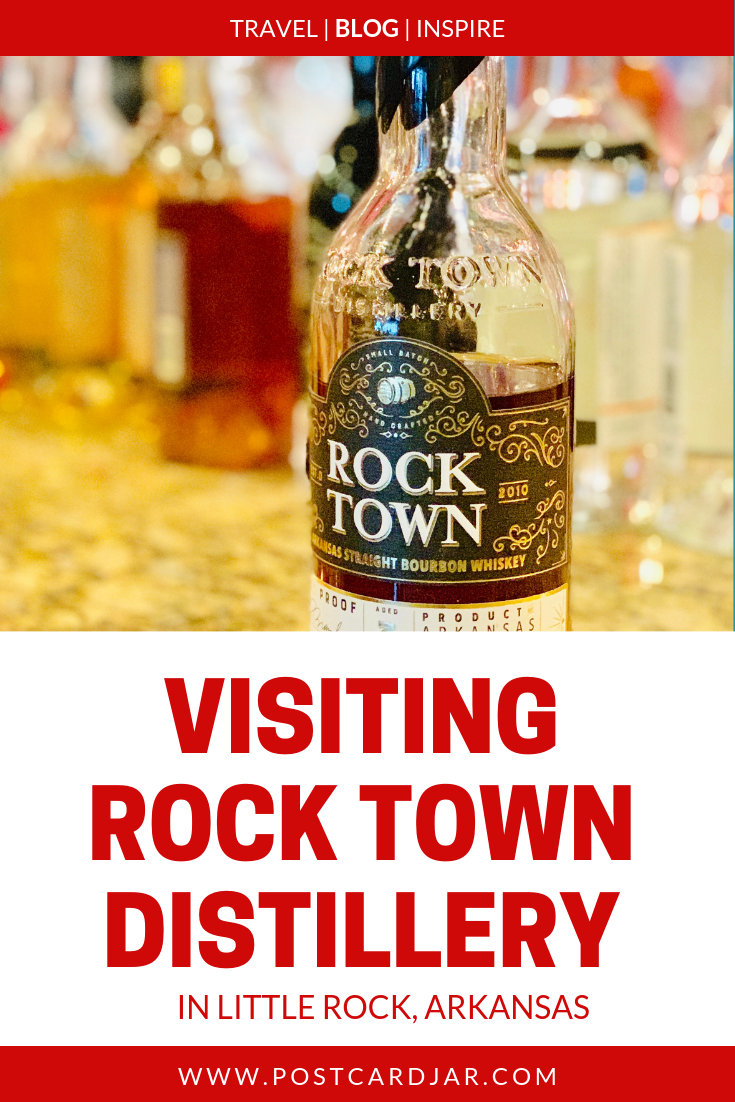 Our visit to Rock Town Distillery in Little Rock, Arkansas, was both informative and fun. We took a tour and learned how they make bourbon, gin, vodka, and more. Click here to read about our tour of Arkansas' first legal distillery since prohibition. If you're looking for things to do in Little Rock, this is a good place to start. #distillery #bourbon #spirits #littlerock #rocktown #arkansas