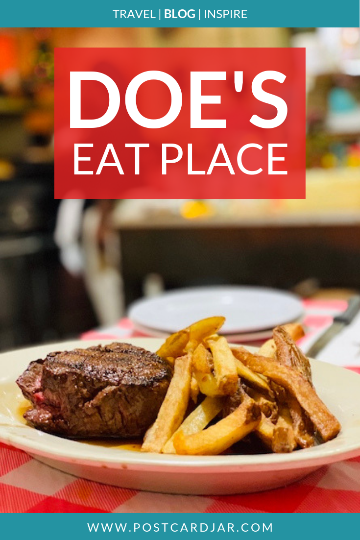 Why every foodie needs to have the original Doe's Eat Place on their bucket list