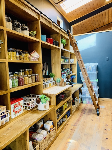 Lodge at Ree Drummond's Ranch pantry