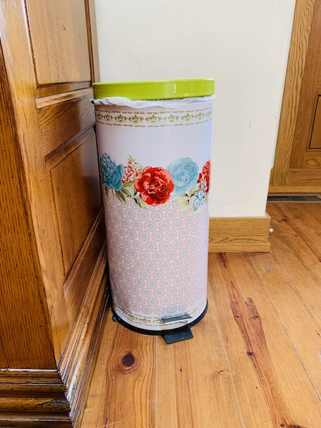Lodge at Ree Drummond's Ranch trash can