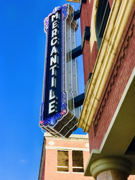 Pioneer Woman Mercantile Sign