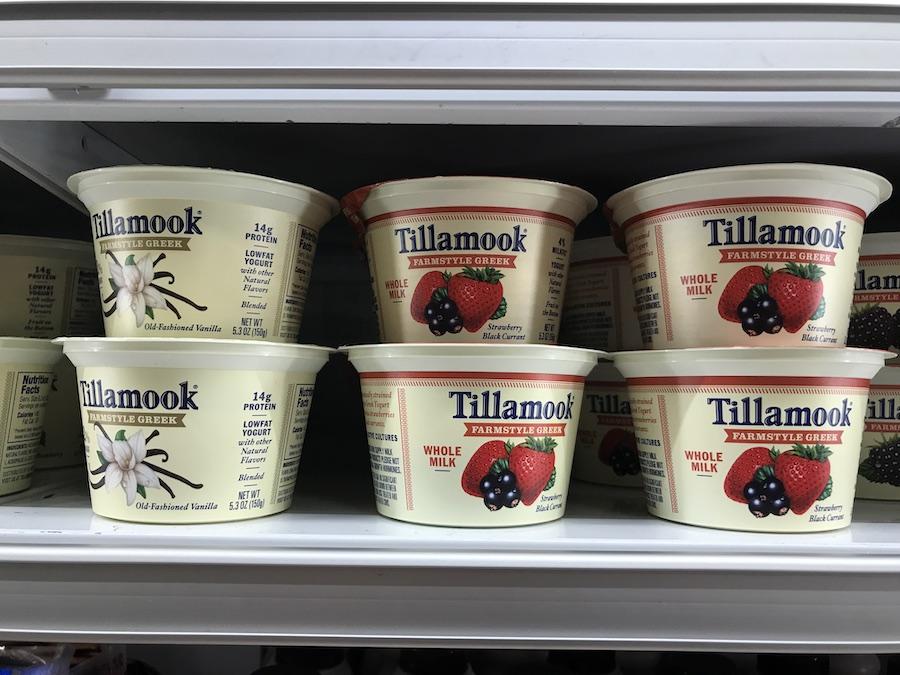 Tillamook Creamery yogurt