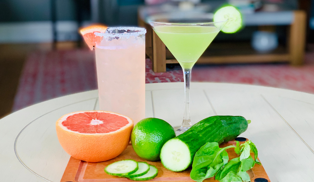 How to make a salty dog and a cucumber martini