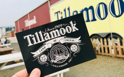 Tillamook Creamery, because ice cream and cheese
