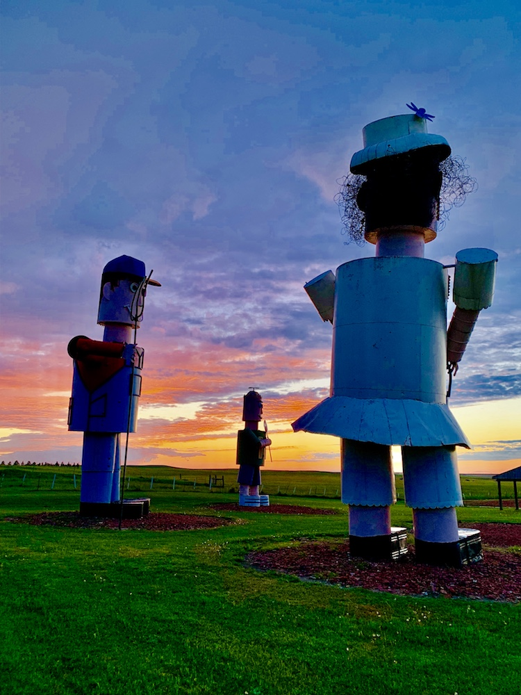 Tin Family Enchanted Highway North Dakota