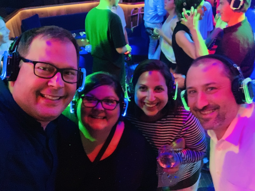 Celebrity Edge Bars Club Bar Silent Disco 2