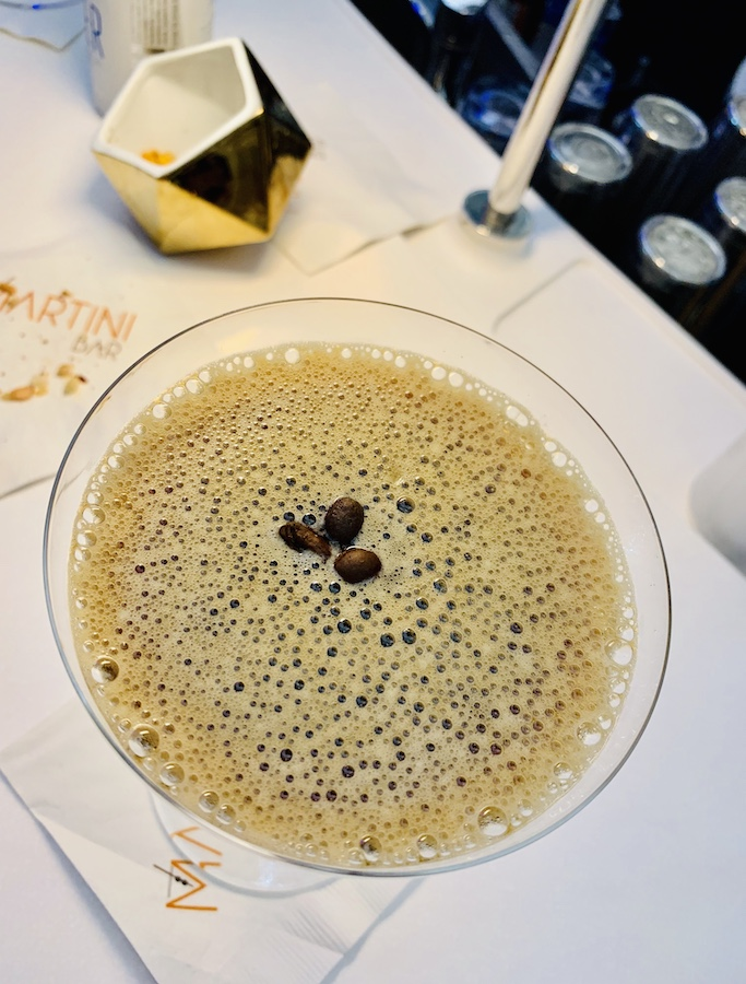 Bars on the Celebrity Edge Espresso Martini