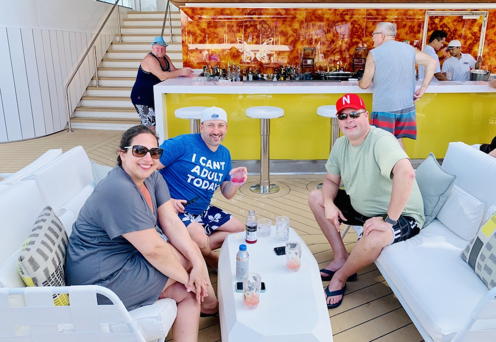 Bars on the Celebrity Edge Prism (pool) Bar