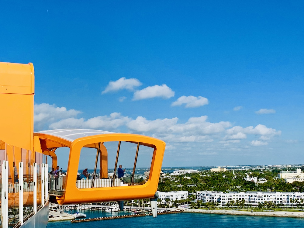 Celebrity Edge Magic Carpet side view