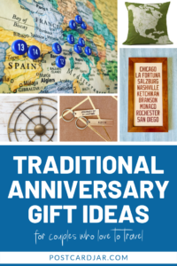 traditional anniversary gift ideas