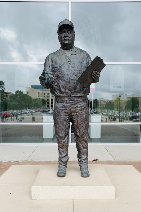 Memorial Stadium Lincoln Bob Devaney Statue