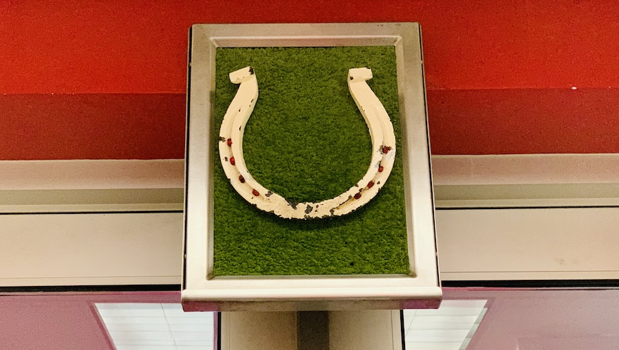 Nebraska cornhuskers horseshoe
