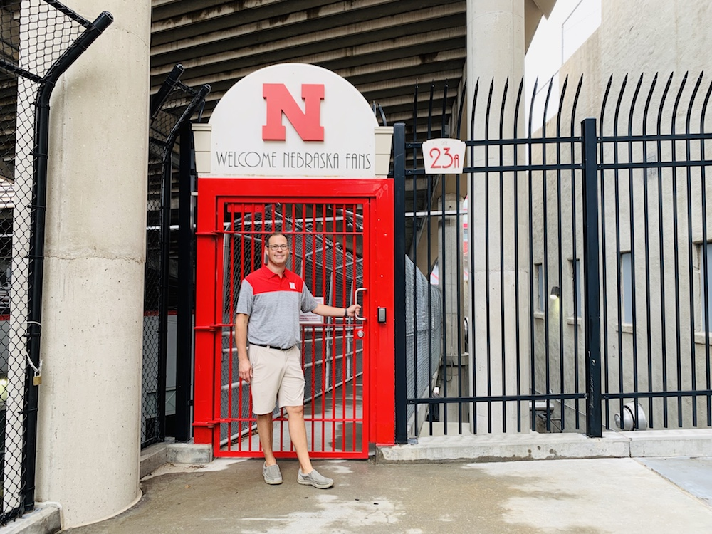 memorial stadium tour gate 23A