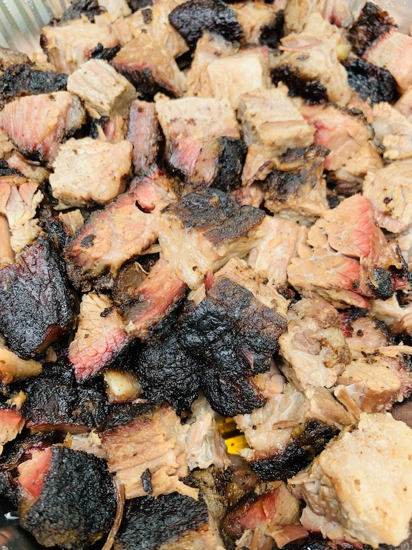 Kansas City Kansas Bar-B-Que Joe's Burnt Ends