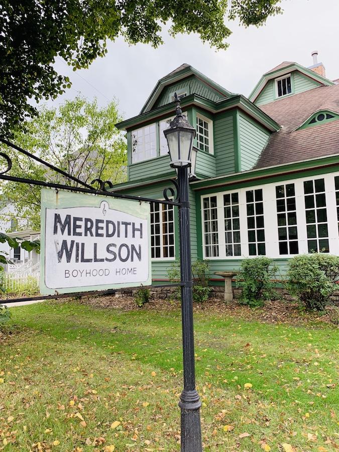 Meredith Willson Childhood home in Mason City