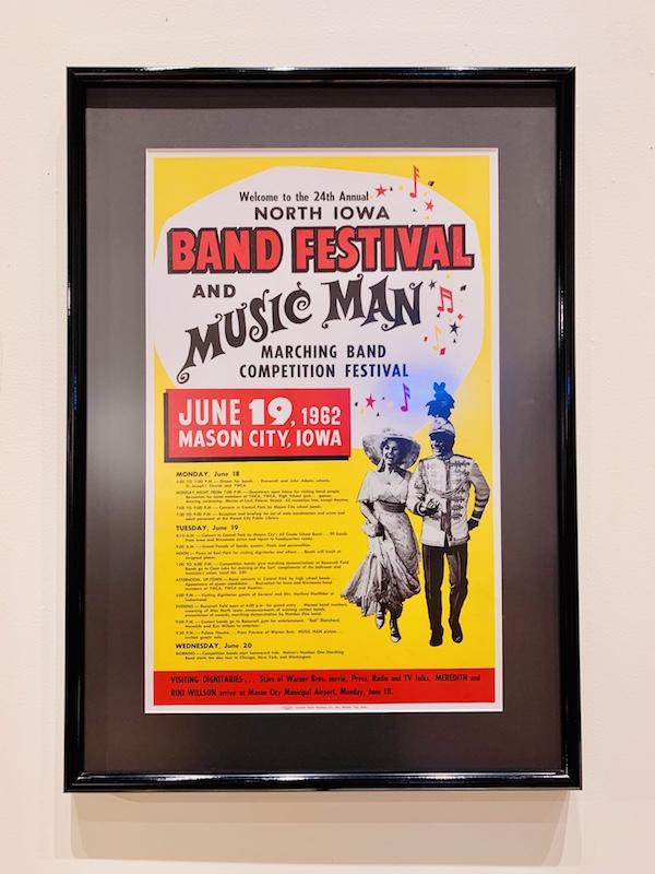 Mason City Band Festival poster
