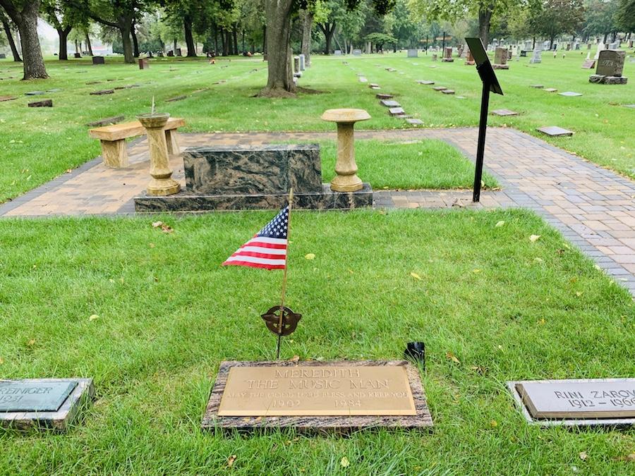 meredith willson gravesite