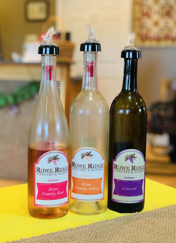 Rowe Ridge Winery wines, Kansas City, Kansas