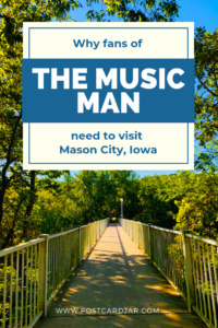 the music man mason city Iowa