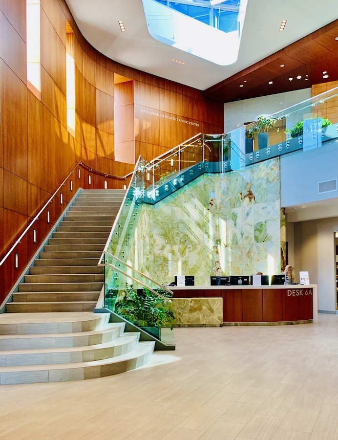 Dan Abraham Healthy Living Center lobby