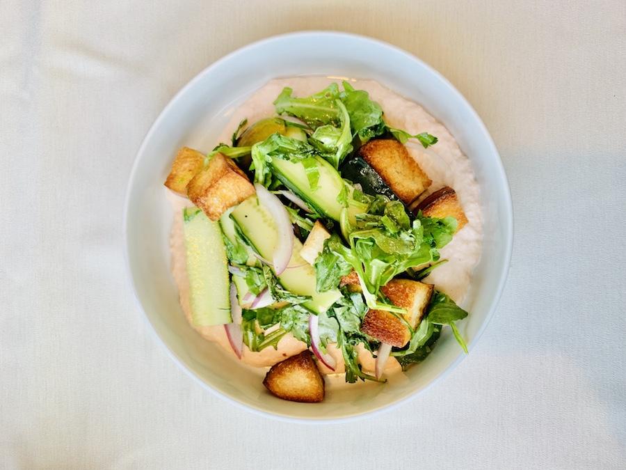 salmon salad bleu duck rochester