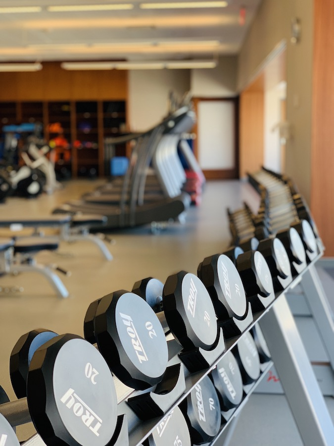 Mayo Clinic healthy living program weight room