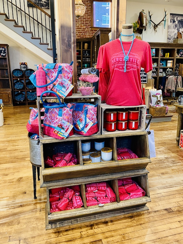 new red shirts at the pioneer woman mercantile