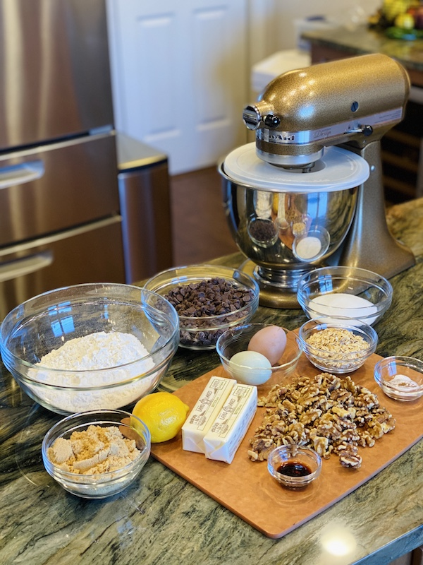 Doubletree by Hilton signature cookie ingredients