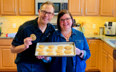 Baking the DoubleTree hotel's Signature Cookie recipe