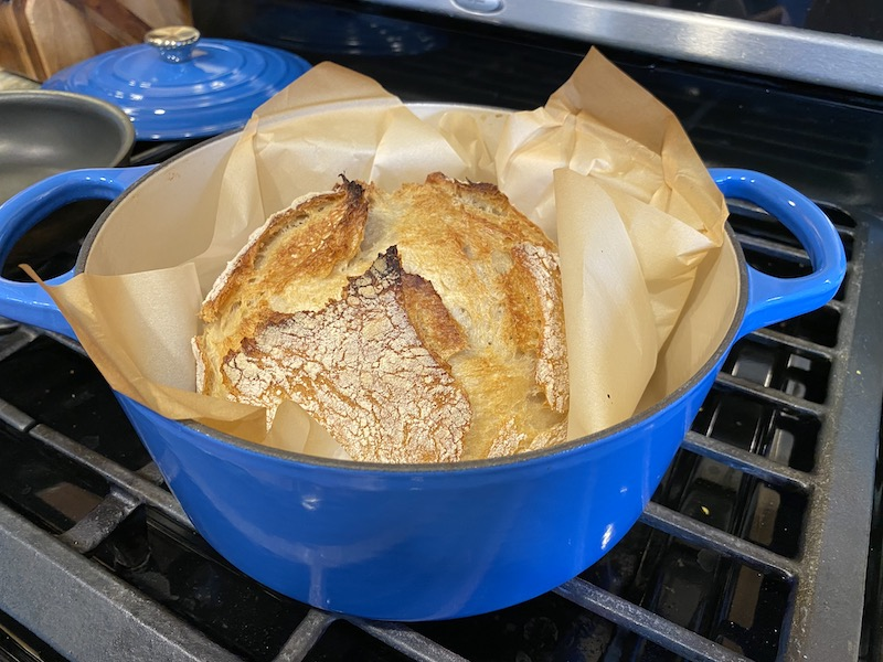Bread that will impress out of the oven