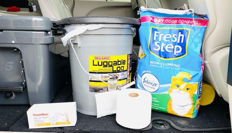 luggable loo supplies