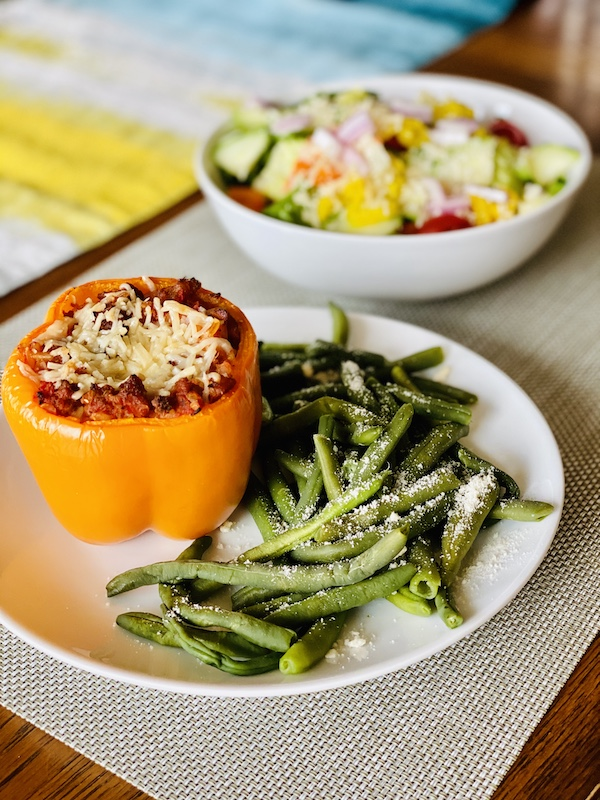 foods to help you lose weight with noom stuffed peppers