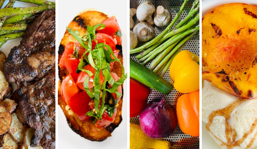 A few of our favorite foods to grill this summer