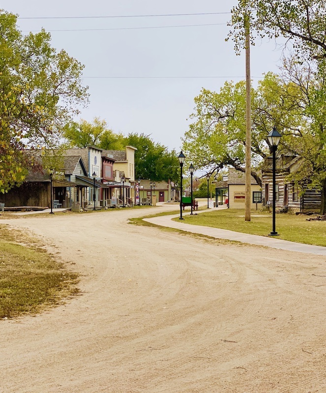 Cow Town Museum street in Wichita