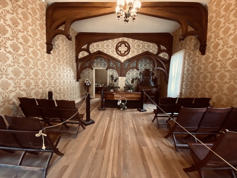 Funeral Parlor at Cow Town Wichita
