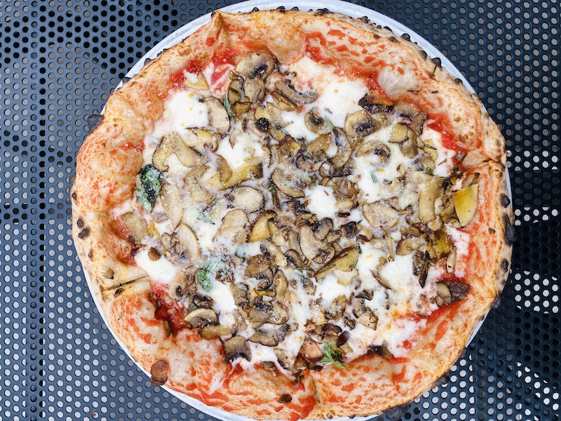 Places to eat in Wichita Piatto mushroom medley pizza
