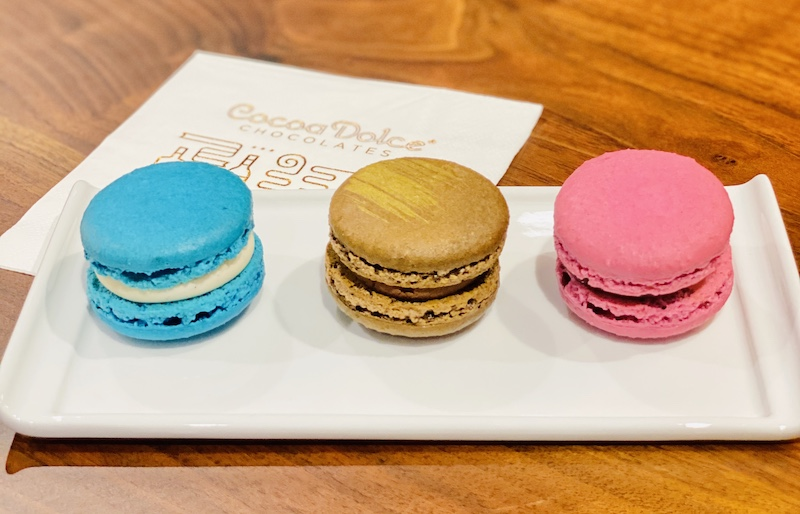 Places to eat in Wichita Cocoa Dolce macarons