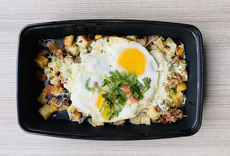 Places to eat in Wichita Homegrown salsa verde pork and eggs