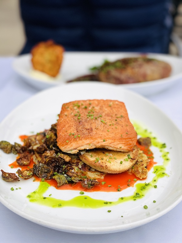 Places to eat in Wichita salmon at Newport Grill
