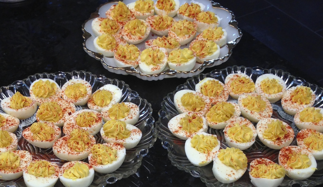 The best deviled eggs recipe from Ann's mom, Carol