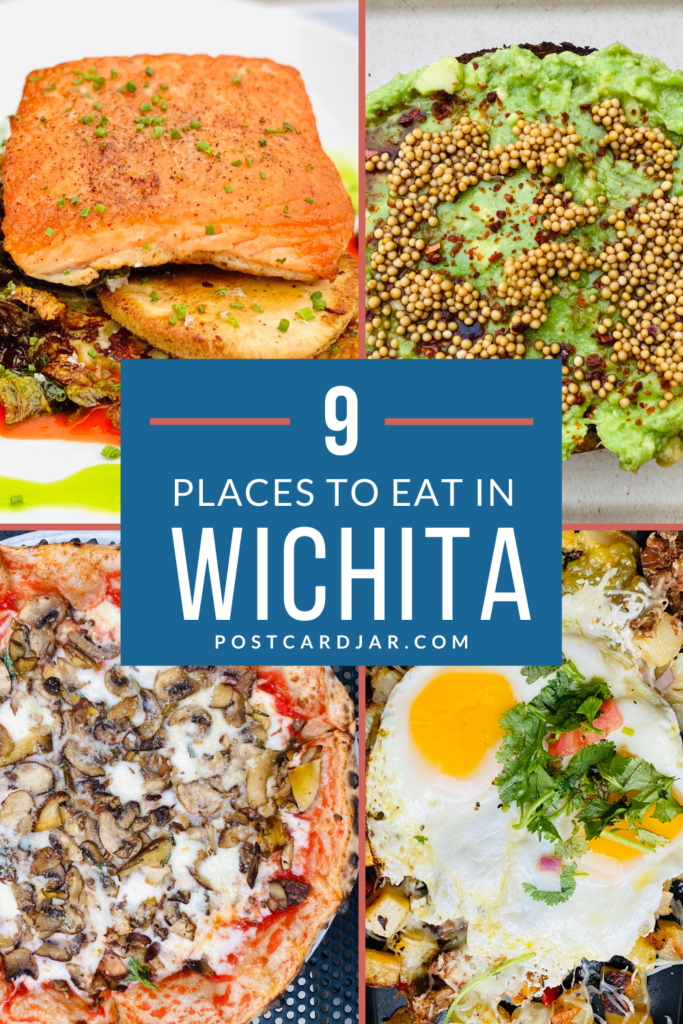 Places to eat in Wichita Pin