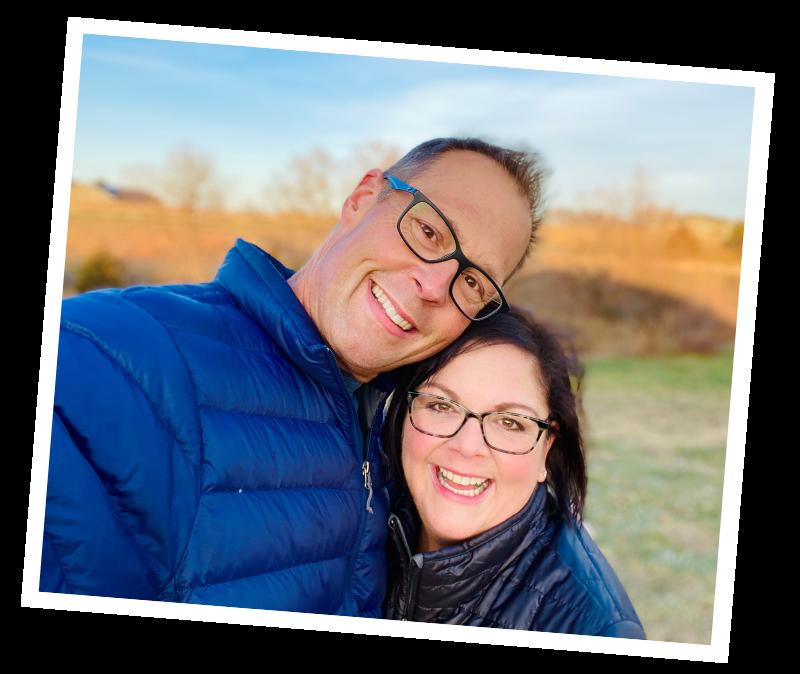 Steve and Ann Teget - new tilted