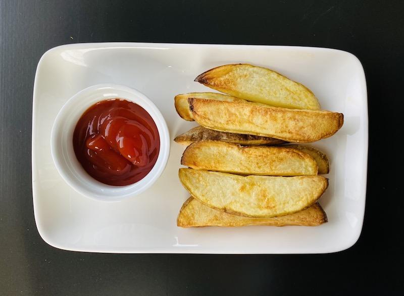 healthy ways to eat potato - air fryer fries