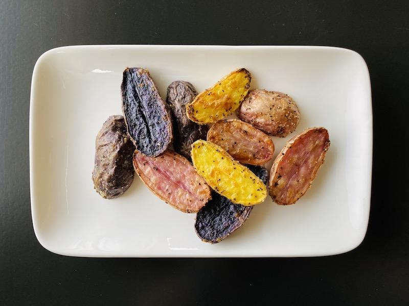 healthy ways to eat potato - roasted fingerlings