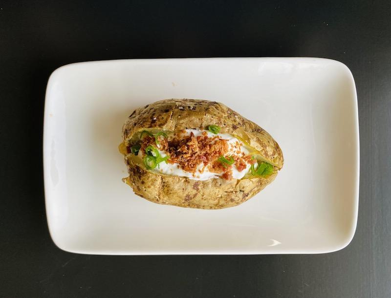 healthy ways to eat potatoes - baked potato